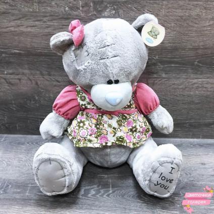 Мишка Teddy девочка в платье