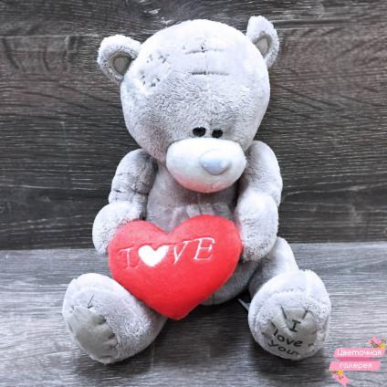 Мишка Teddy с сердцем