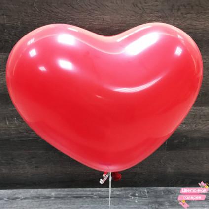 Шарик «Красное сердечко»